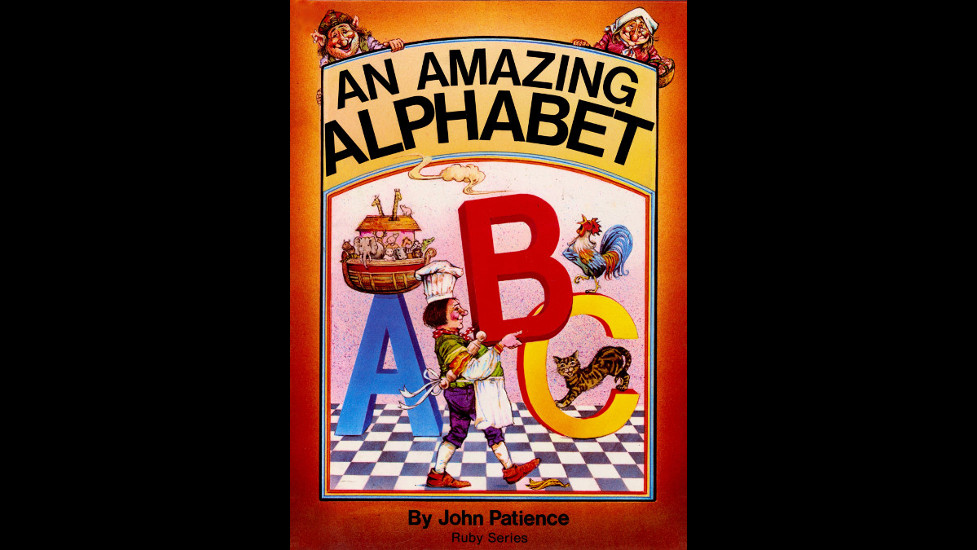 An Amazing Alphabet cover