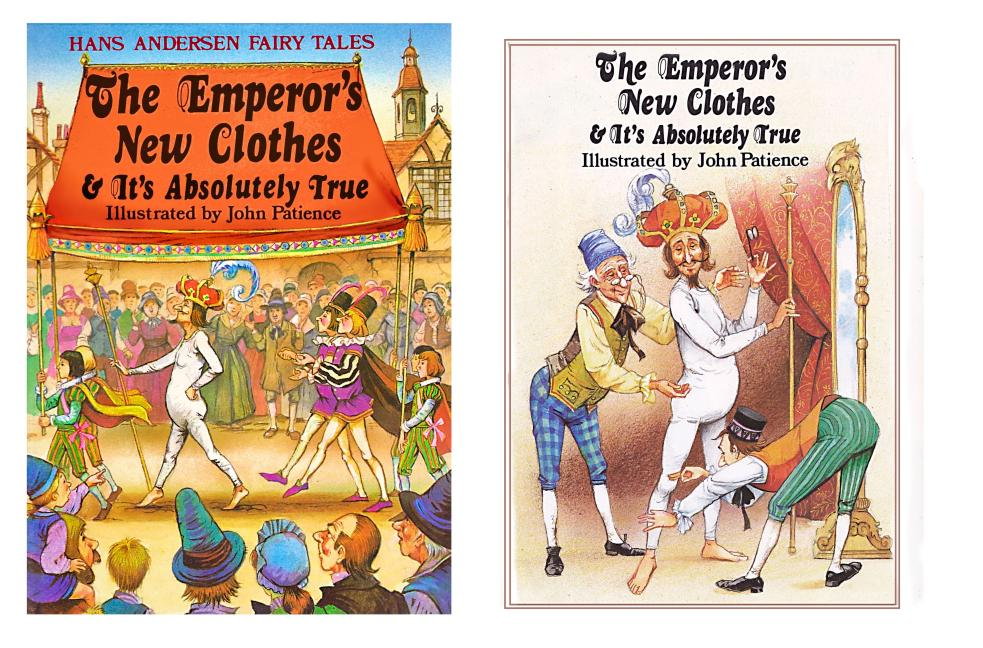 The Emperor's New Clothes / It's Absolutely True - cover and title page
