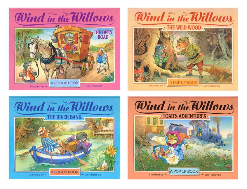 The Wind in the Willows - covers