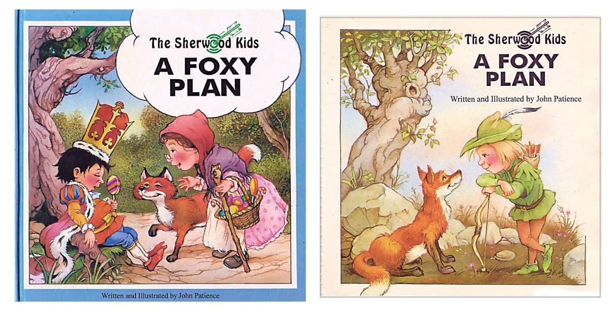 A Foxy Plan - cover and title page